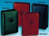 Colored Zippered Leather Breviary Covers for 4 Volume Liturgy of the Hours
