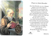 Saint Benedict Laminated Prayer Card