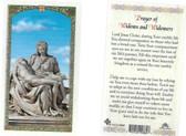 Laminated Prayer Card of Widows And Widowers