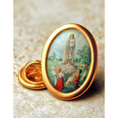 Our Lady of Fatima Full Color Lapel Pin