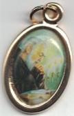 Padre Pio Color Medal