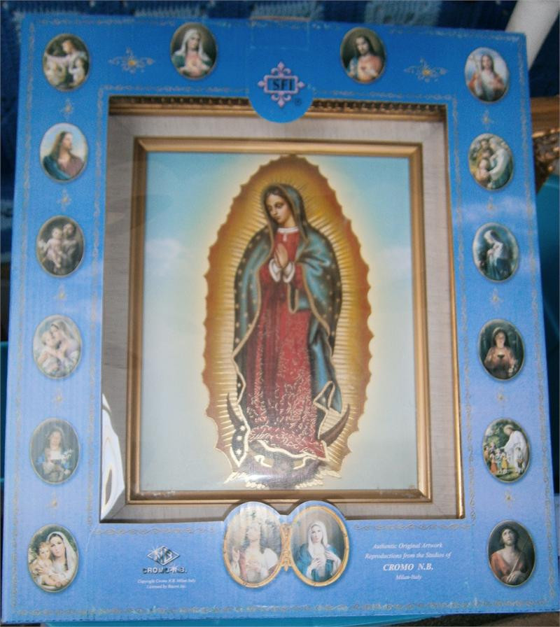 Our Lady Of Gudalupe Framed Print