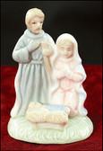 Child Like Small Nativity Stand