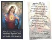 The Morning Offering Prayer Card