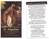 Saint Augustine Prayer Card