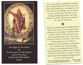 The Sign Of The Cross Prayer Card