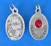 St. Dymphna Third Class Relic Medal