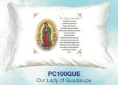Our Lady Of Guadalupe Prayer Pillowcase English