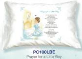 Prayer For A Little Boy Prayer Pillowcase