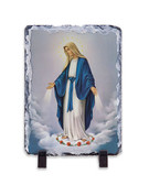 Our Lady of Grace Vertical Slate Tile