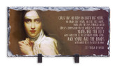 St. Teresa of Avila Prayer Horizontal Slate Tile