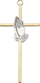 Bliss Praying Hands Cross
