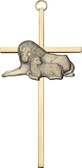 Bliss Lion and Lamb Cross