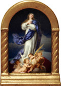 Immaculate Conception - USA Desk Shrine