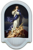 Immaculate Conception USA Holy Water Font