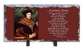 Saint Thomas More Lawyer's Prayer Horizontal Slate Tile