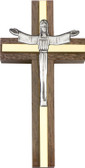 Bliss Walnut Risen Christ Cross