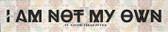 """I Am Not"" St. Kateri Tekakwitha Quote Plaque"