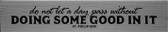 """""""Doing Some Good"""" St. Philip Neri Quote Plaque"""