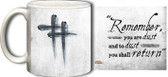 Ash Wednesday Mug (White)