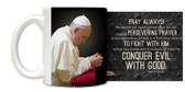 Pope Francis in Prayer Mug
