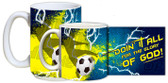 """Doing It All"" Soccer Mug"