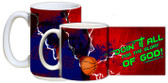 """Doing It All"" Basketball Mug"