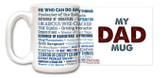 """My Dad Mug"" Quote Mug"