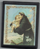 St. Anthony Holding Jesus Stand Up Plaque