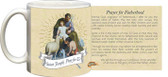 St. Joseph Guardian of Sons Prayer for Fatherhood Mug