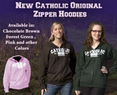 Catholic Original Zipper Hoodie