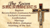 Front Seven Sacraments/Seven Gifts of the Holy Spirit