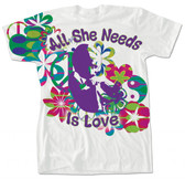 """All She Needs Is Love"" T-Shirt"