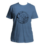 Awfully Big Adventure Heather Blue T-Shirt