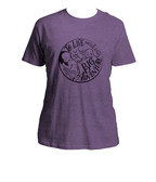 Awfully Big Adventure Heather Purple T-Shirt