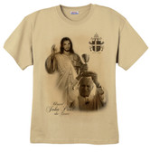 St. John Paul II and Divine Mercy T-Shirt