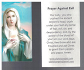 Prayer Against Evil