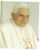 Pope Benedict Portrait Print