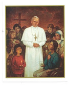 "Pope John Paul ""Believe"" Print"