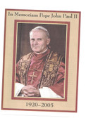 Pope John Paul II Memoriam Picture