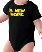 A New Hope Black Baby Onesie II