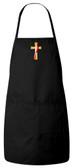Deacon's Cross Apron (Black)