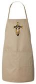 Benedictine Cross Apron (Natural)