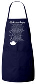 A Kitchen Prayer Apron (Navy)