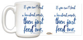 """If You Can't"" St. Teresa of Calcutta Quote Mug"