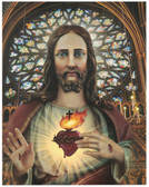 Sacred Heart Color Print