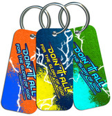 """""""Doing It All"""" Graphic Keychain"""
