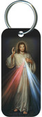 Divine Mercy Rectangle Keychain