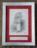 Lord Make Me a Channel of Your Peace, Framed, Matted Print by Joseph Matose