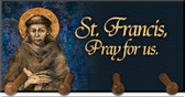 St. Francis by Cimabue Keychain Holder